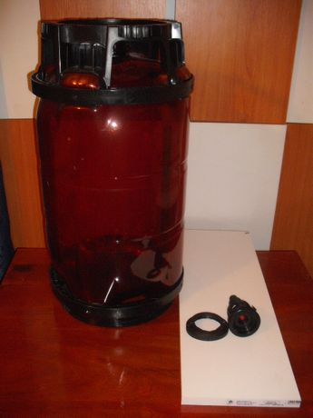 Butoi vin/must - 20/30 litri - inchidere ermetica 3,5 barr
