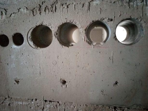 Сверление отверстий разных диаметров