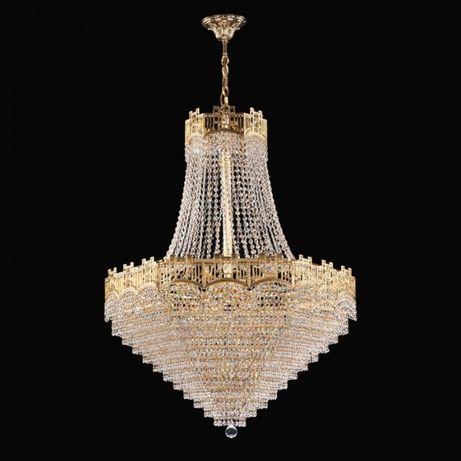 Candelabru cristal de lux ideal sala nunta, sala evenimente, hotel