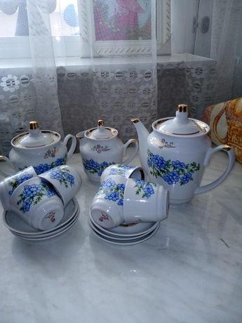 Продам красивый чайный сервиз на 6 персон