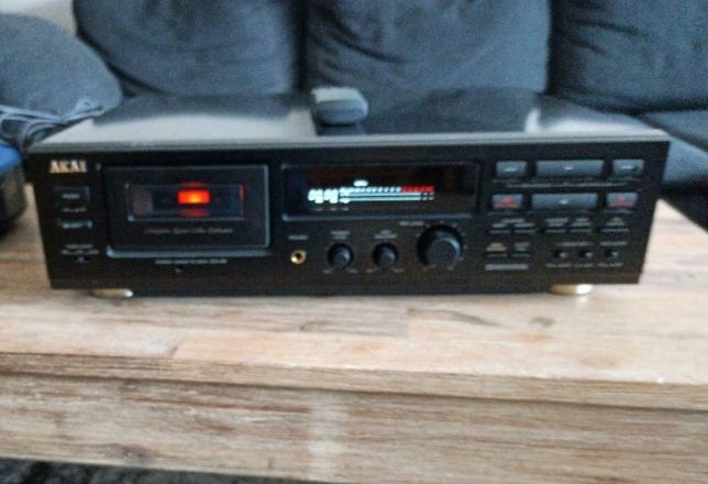 Akai Deck DX-49 cassette/casetofon + Telecomanda originala