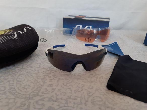Слънчеви очила с три вида стъкла
