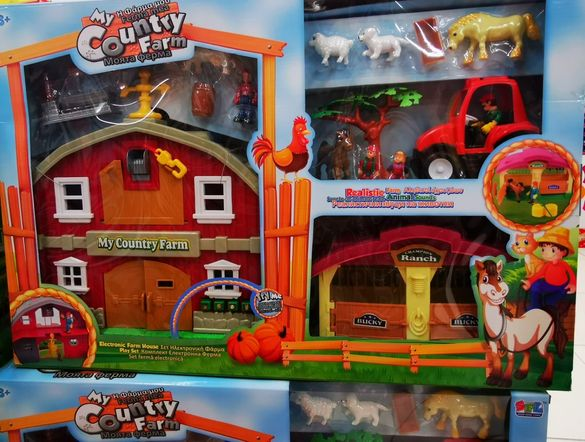 Детска  ферма с животни детски играчка играчки