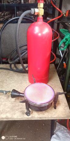 Баллон газовый с  плиткой обогревателем