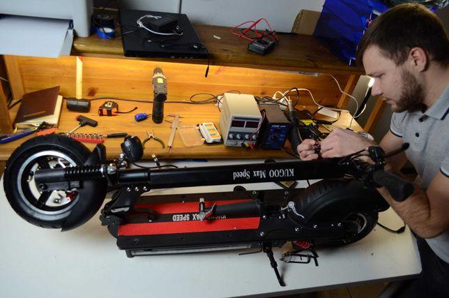 Ремонт электро-самокатов скутеров с выездом на дом