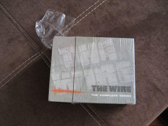 Наркомрежа The Wire всички сезони 1-5 на ДВД оригинал на английски