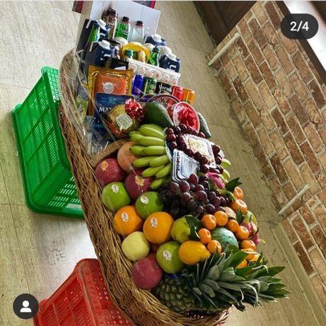 Фрукты карзына  фруктовы карзина  подарки