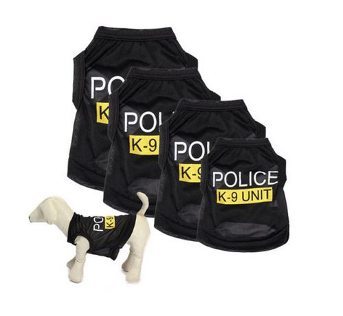 Дреха за куче Police K9