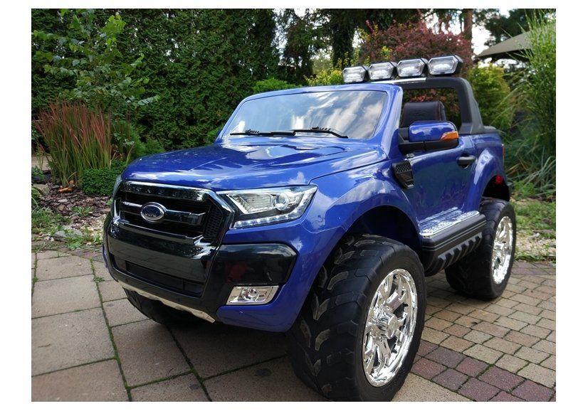 Masinuta electrica Ford Ranger 4x4 PREMIUM 180W #Albastru Metalizat