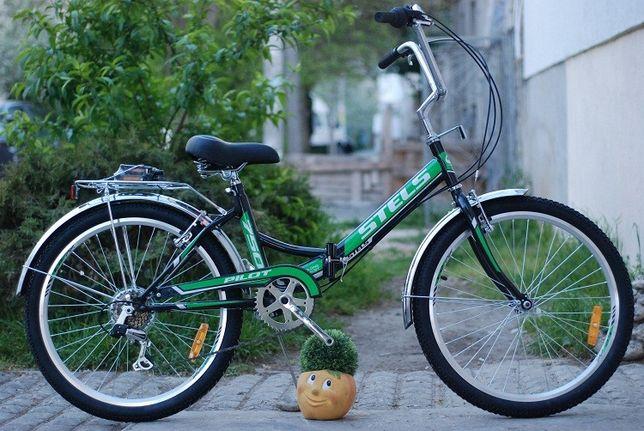 """Складной велосипед Stels Pilot 750 24"""". Гарантия. Рассрочка Kaspi."""