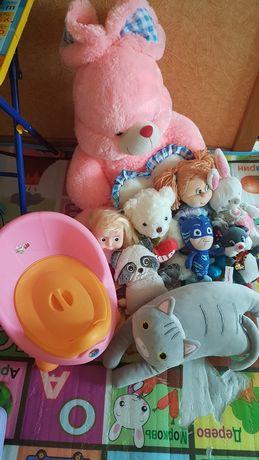 Срочно детские игрушки и горшок новый