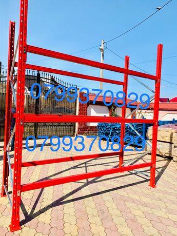 Rafturi metalice 2,7 m lungime 6 m inaltime lichidare stoc reducere