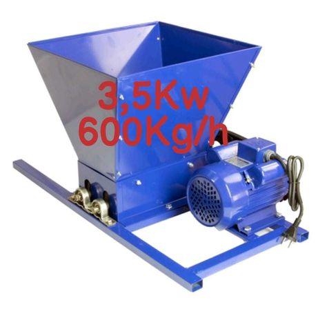 Zdrobitor Struguri Electric Uralmash 3,5kw 600Kg/Ora Teasc/presa