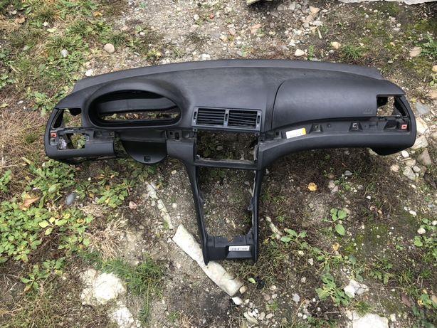 Plansa bord cu airbag pasager Bmw E46