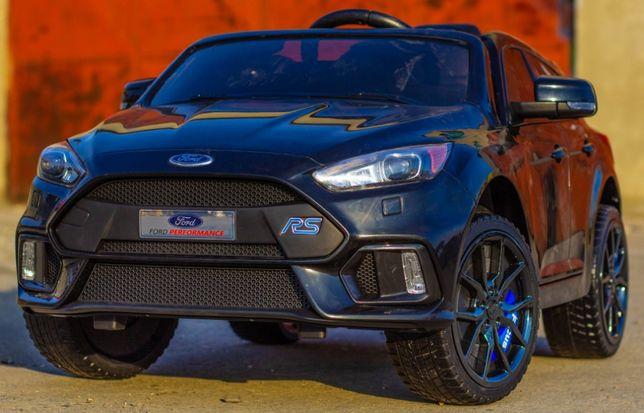 Masinuta electrica pentru copii Ford Focus RS 2x35W 12V #Negru
