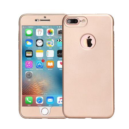 Capac de protectie Full silicone 360° (fata+spate) pentru Apple Iphone