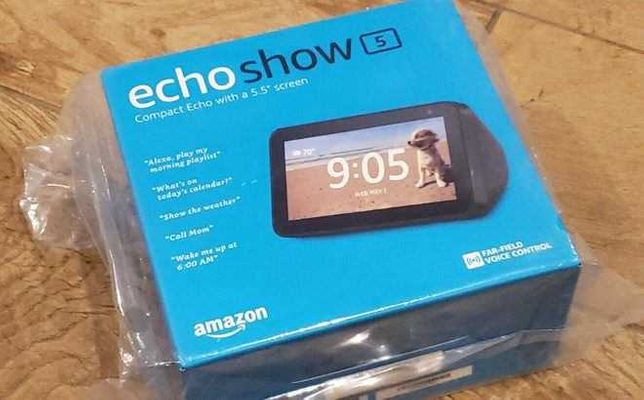 Amazon Echo Sow 5 Black