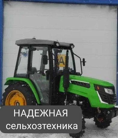 Покупай в Нур-Султане (Астане)! Трактор Рустрак XT-654 с кабиной