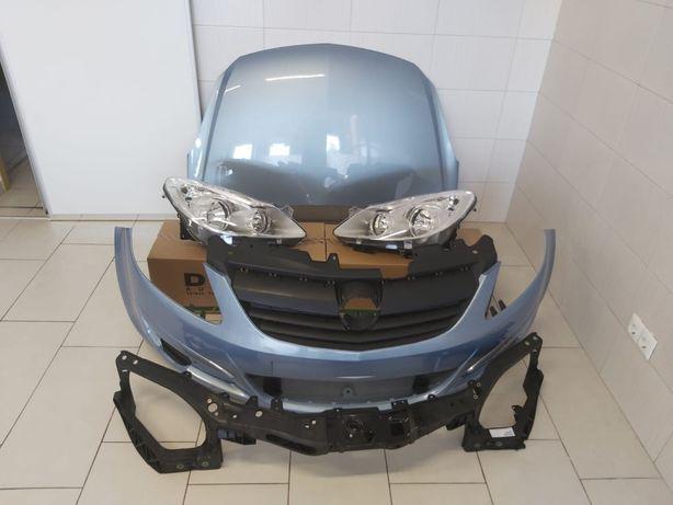 Pachet Capota Motor+Bara Fata+Faruri+Trager Opel Corsa D 06-11 (4MU)