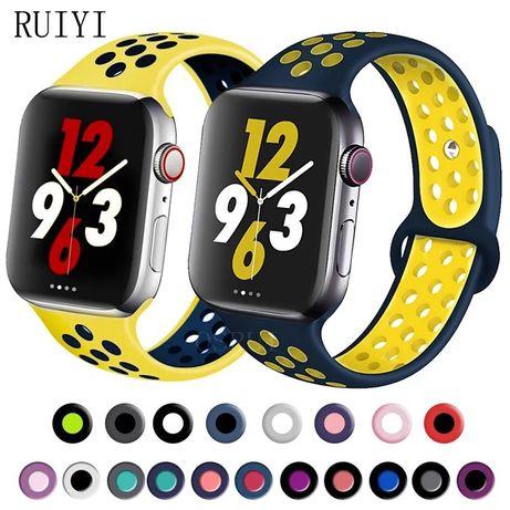 Curea Silicon Model Perforat Ceas / Apple Watch Seria 1.2.3.4.5.6.SE