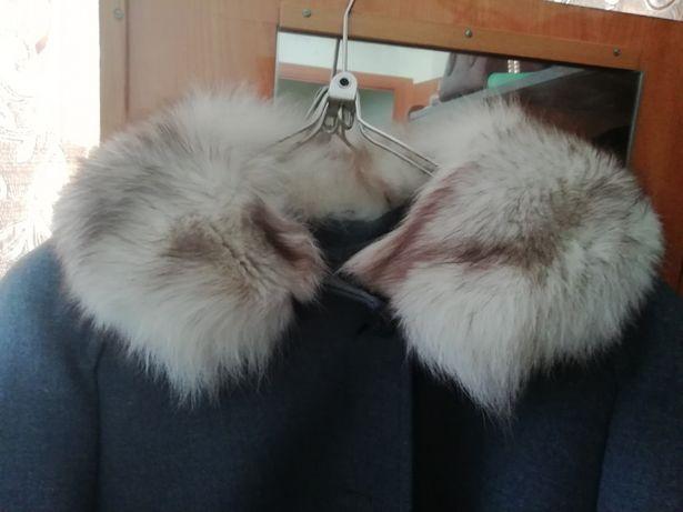 Продам советское драповое пальто женское!