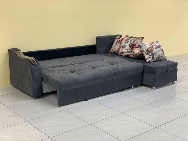 Угловые диваны для гостинных комнат