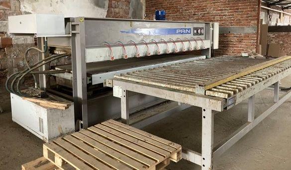 Автоматична топла преса за плотове и фурнир