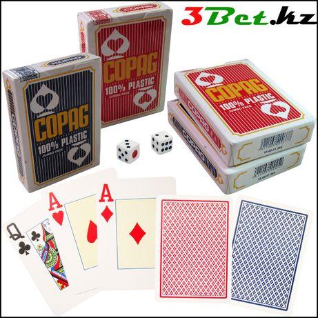 Покерные карты, пластиковые 100%, игральные карты COPAG, покер