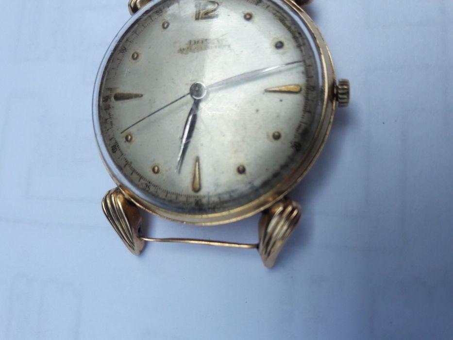ceas de aur 14K .DOXA Plopeni - imagine 1