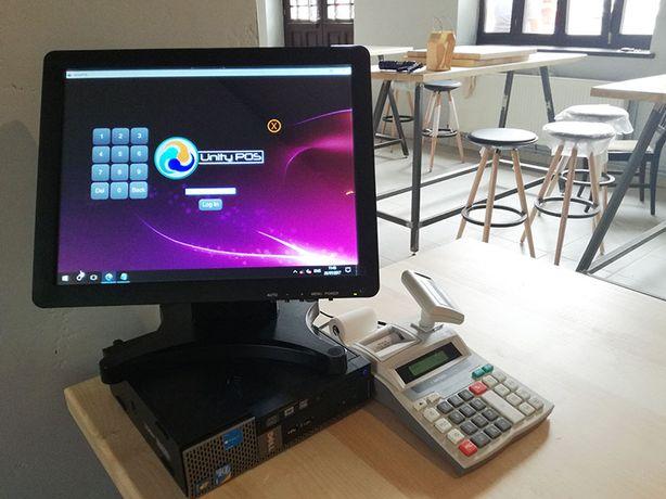 Sistem vanzare gestiune food truck/rulota/stand UnityPOS+touchscreen
