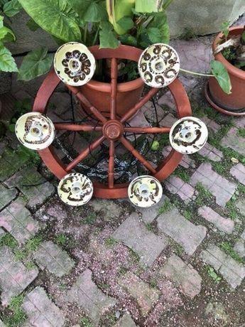 Lapadar , candelabru Lustra din lemn