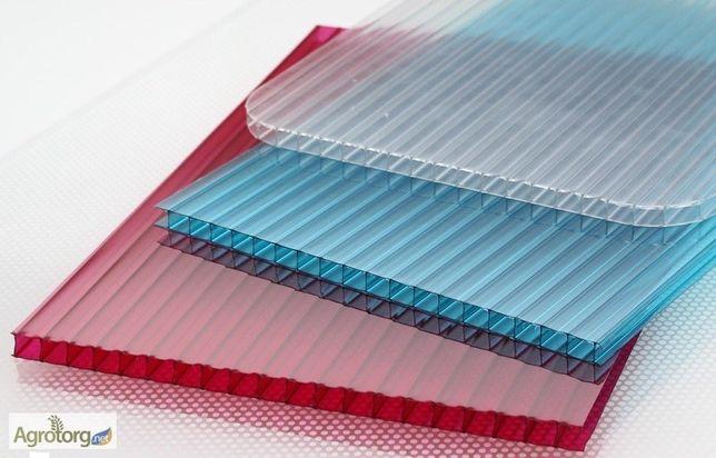 Сотовый поликарбонат (цветной) Skyglass 10 мм, размер 2,1х6 метров