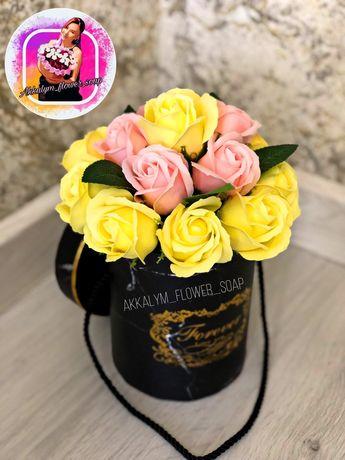 Цветы. Мыльные Розы