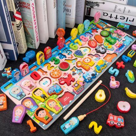 Детска игра за редене 8 в 1