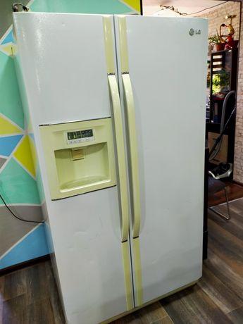 Срочно! Холодильник LG Side-by-side NO FROST