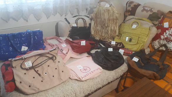 Впечатляваща колекция от чанти - маркова на Guess и 12 други