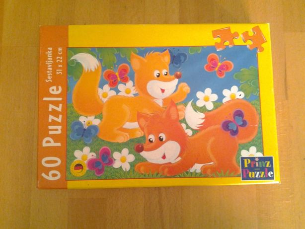 Prinz Fox puzzle copii +2 ani (60 bucati)