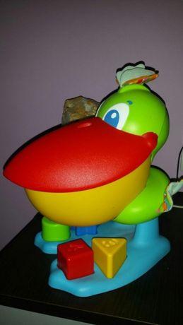Jucărie pelican copii cu melodii numere