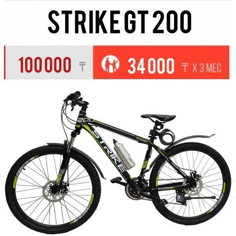 """Велосипед горный Strike GT200. Рама-17,19,31"""". Рассрочка. Гарантия."""