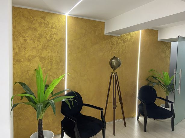 Vopsea.aplicam decorativa de interior, 8€mp
