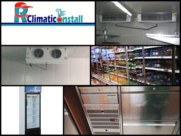 Service Frigorifice Refrigerare/Congelare (vitrine/camere frigorifice)