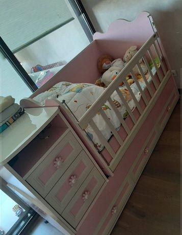 Кроватка детская, трансформер до 15 лет.
