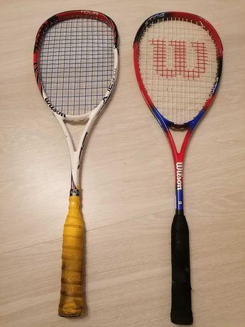 Racheta squash Wilson+ husa Karakal