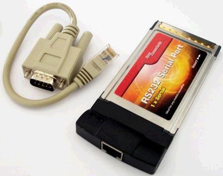 Для ноутбука PCMCIA Serial port adapter, Espada FG-CF950-B3, RS-232