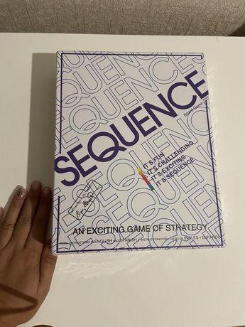 Настольная игра секвенс sequence