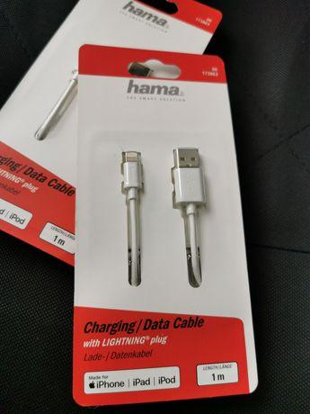 Hama Cablu de date, încărcător lightning IPhone