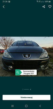 Dezmembrez Peugeot 307 facelift motor 1,6 HDY