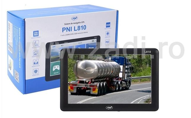 Gps T.I.R. ecran mare -program pt camion - garantie 2 ani