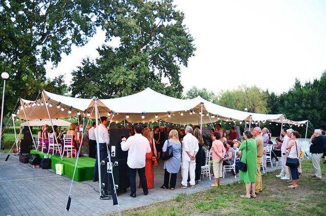 Inchiriere cort deschis african nunti petreceri evenimente 10x15