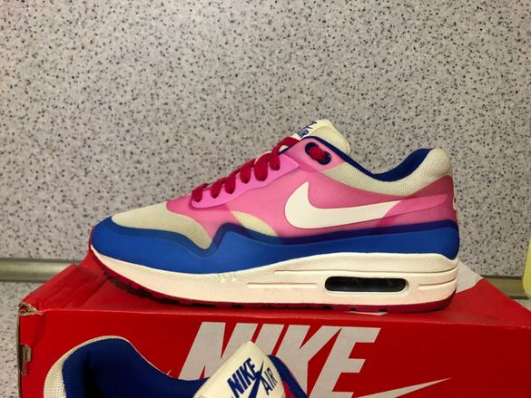 ОРИГИНАЛНИ ***Nike Air Max 1 Hyperfuse / Pink Force Hyper Blue